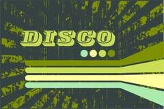 Frunge disco background Stock Images