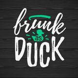 Frunk As Duck Royalty Free Stock Images