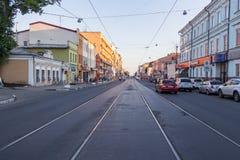 Frunze ulica na słonecznym dniu Obraz Stock