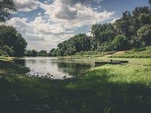Fruska gora National Park, Serbia. Exploring beautiful landscapes of Serbia Royalty Free Stock Photo