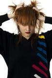 Frustração adolescente Foto de Stock Royalty Free