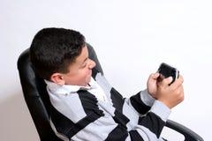 Frustração do jogo video imagens de stock royalty free