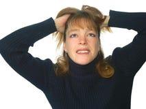 Frustrado Foto de archivo libre de regalías