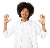 Frustrated black man Royalty Free Stock Photo