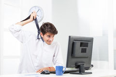 Frustrated business man Stock Photos