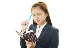 Frustrated Business woman Stock Photography