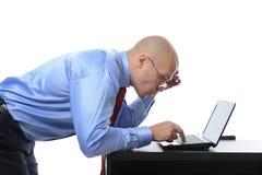 Frustrated businessman Stock Photos