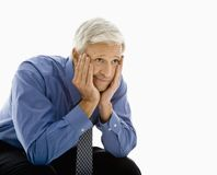 Frustrated businessman. Stock Images
