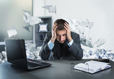 Frustrated businessman Royalty Free Stock Photography