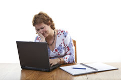 Frustrated businesswoman Royalty Free Stock Images
