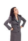 Frustrated businesswoman Royalty Free Stock Photography