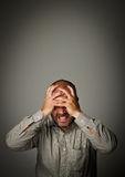 Frustrated Royalty Free Stock Photo