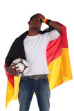Frustrated german soccer supporter Royalty Free Stock Photo