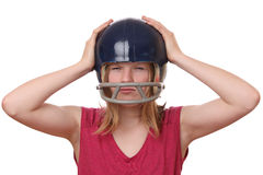 Frustrated girl Royalty Free Stock Photography