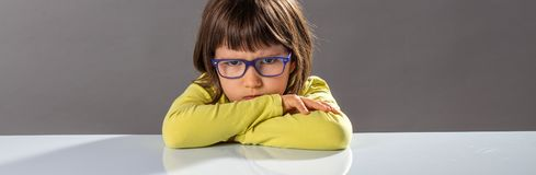 Free Frustrated Mad Child Expressing A Furious Disagreement, Copy Space Stock Photos - 164252143
