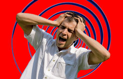 Frustrated man Royalty Free Stock Photography