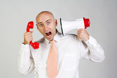 Frustrated man Royalty Free Stock Image