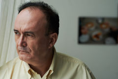 Frustrated man stock photography