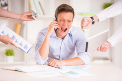 Frustrated man Royalty Free Stock Photos