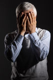 Frustrated men. Stock Images
