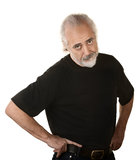 Frustrated Older Man Stock Image