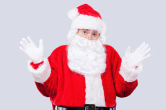 Frustrated Santa. Royalty Free Stock Images