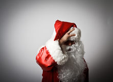 Frustrated Santa Claus Stock Photos