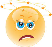 Frustrated Smiley. Icon. Emotions Royalty Free Stock Image