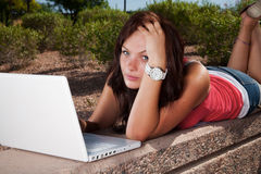 Frustrated Student Stock Photography