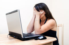 Frustrated Woman Royalty Free Stock Images