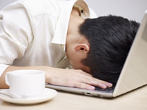Frustrated Young Man Stock Image