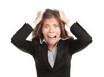 Frustratie Stock Foto