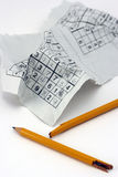 Frustrating Sukoku. Sudoku as Concept for Frustrating Problem Royalty Free Stock Photo