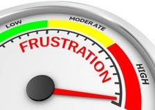 frustration Lizenzfreies Stockfoto