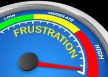 frustration Lizenzfreies Stockbild