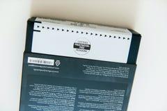 Frustration-fritt förpacka för amason av den nya amasonen Kindle Royaltyfria Foton