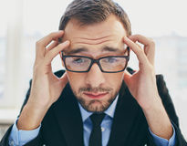 Frustration Royalty Free Stock Photography