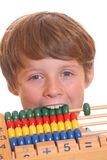 Frustration in school royalty free stock photos