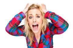 Frustration and Stress royalty free stock image