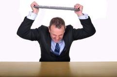 Frustrazione dell'ufficio Immagine Stock