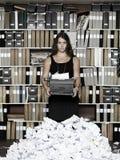 Frustrerad författare Arkivfoto