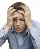 frustriert Stockbild