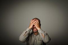 Frustriert lizenzfreies stockfoto