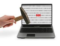 Frustriert mit Computerproblemen #3 lizenzfreies stockfoto