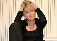 Frustrierte ältere Frau Stockbilder