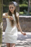 Frustrierte Braut Lizenzfreie Stockfotos