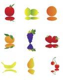 Fruta ilustração stock