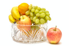 Fruta aislada Fotografía de archivo libre de regalías