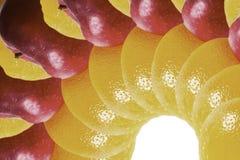 Fruta aislada Imagenes de archivo