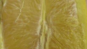 Fruta alaranjada fresca Fim alaranjado suculento do fruto acima Macro do aperto 0orange Feche acima do fruto alaranjado Fruta suc filme
